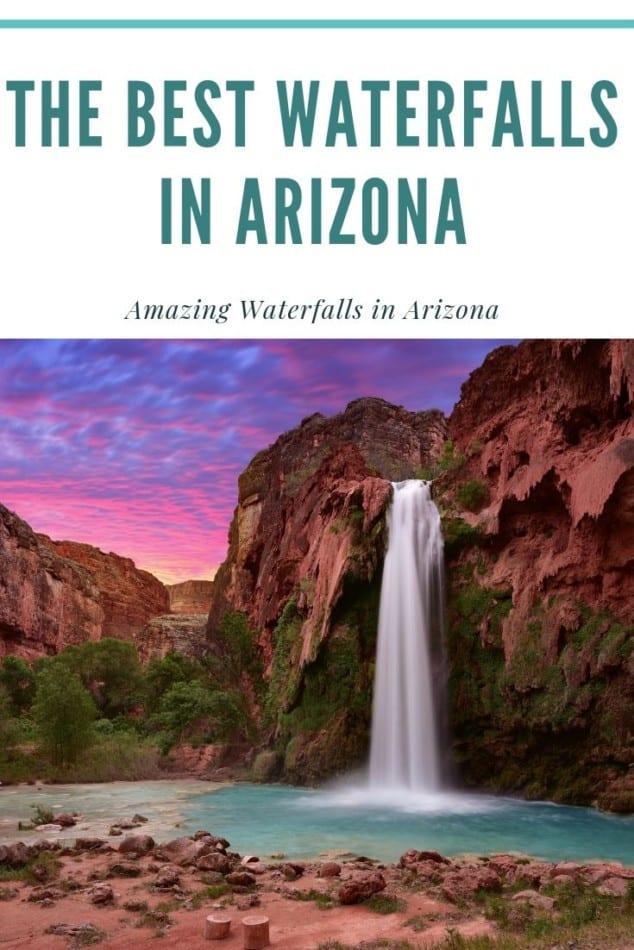 The best waterfalls in arizona