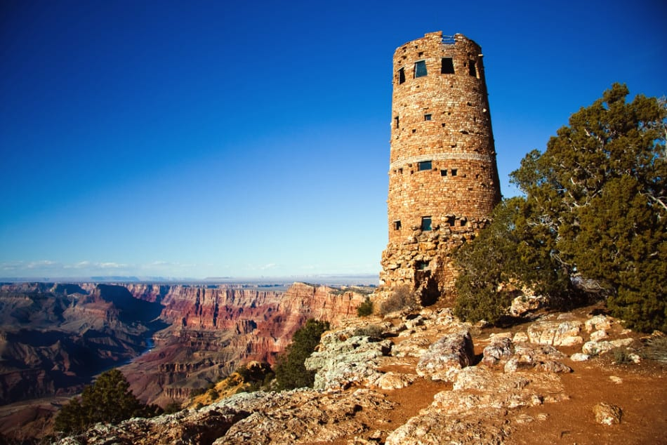 Desrt View Point Grand Canyon