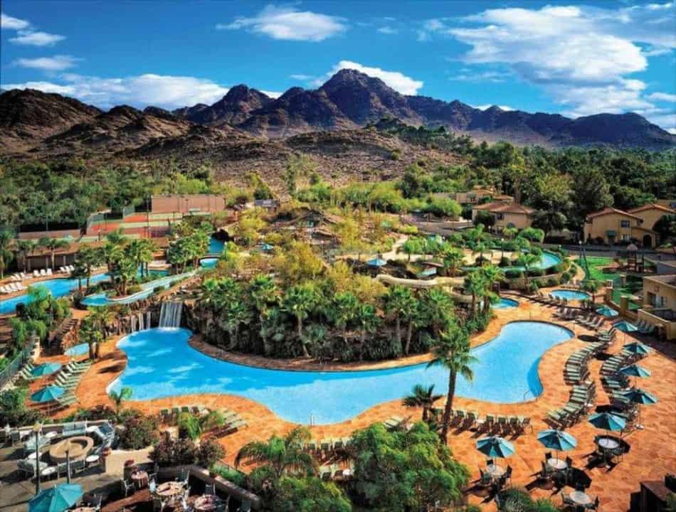Best Hotel Pools In Phoenix Hotel Water Park American Sw Obsessed