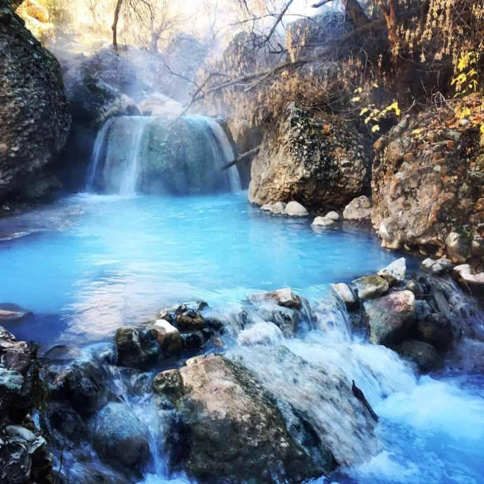 natural hot springs utah