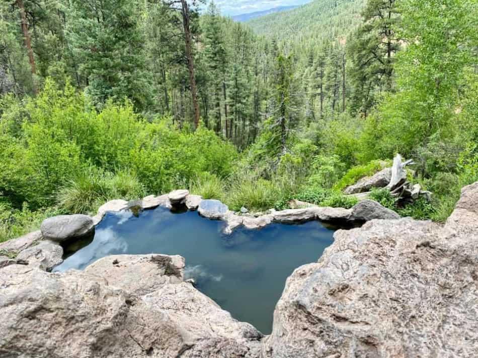 hot springs near santa fe new mexico