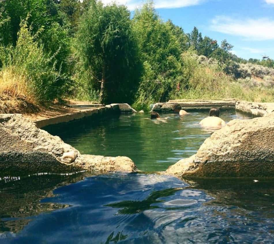 natural hot springs in new mexico
