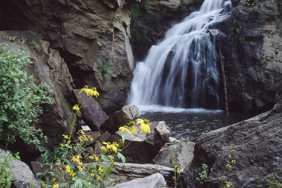 Jemez Waterfalls in New Mexico