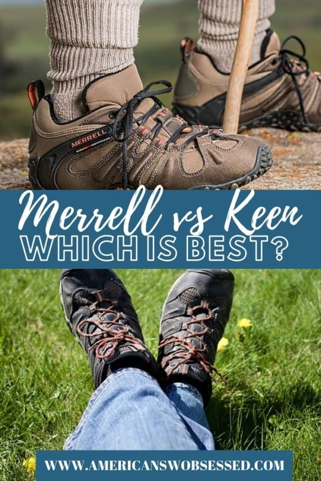 Merrell vs Keen